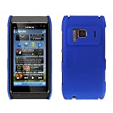 Blue Hard Hybrid Back Case Cover For The Nokia N8