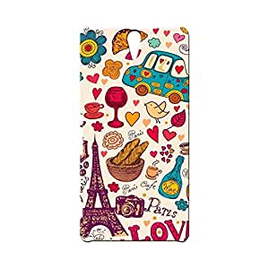 BLUEDIO Designer Printed Back case cover for Sony Xperia C5 - G6910