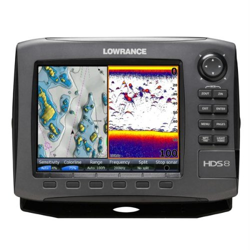 Lowrance fishfinder lowrance hds 8 gen2 plotter sounder for Fish finder lowrance