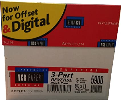 Ncr Carbonless Paper Ncr Carbonless Paper Reverse 3