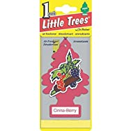 Car-Freshner U1P-10318 Little Trees Car Air Freshener-CINNA-BERRY AIRFRESHENER