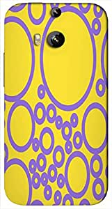Timpax protective Armor Hard Bumper Back Case Cover. Multicolor printed on 3 Dimensional case with latest & finest graphic design art. Compatible with HTC M8 Design No : TDZ-23431