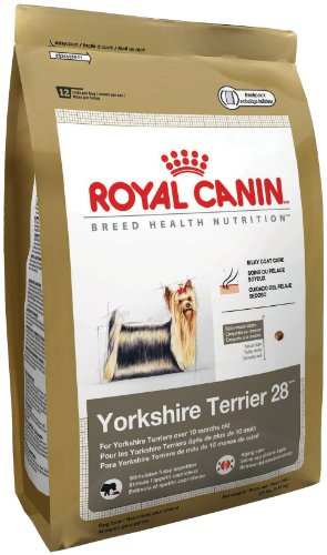 Royal Canin Dry Dog Food, Yorkshire Terrier 28 Formula, 10-Pound Bag