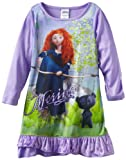 Komar Kids Girls 2-6X Merida With Bear Long Sleeve Disney Gown