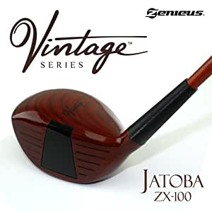 Jatoba ZX-100 (LEFT) Vintage Series | Limited Edition Vintage Series Wooden Painted Driver | Excellent Golf Gift