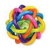 Happytime オーボール ラトル おしゃぶり 歯固め ボール 赤ちゃん ベビー 知育玩具 おもちゃ メリー 0歳から レインボー 音鳴り