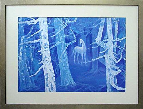 アートショップ フォームス 東山魁夷「白馬の森」