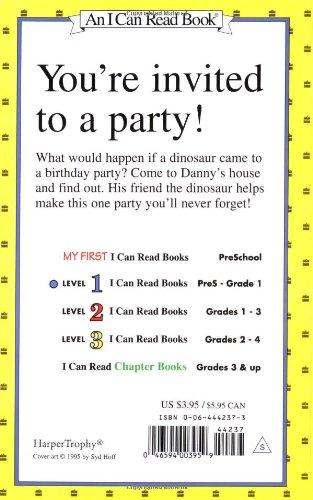 Happy Birthday, Danny and the Dinosaur! (I Can Read)