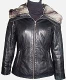 Johnnyblue 40000 PETITE SIZE Genuine Lambskin Leather Short Jacket Parka