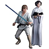 Star Wars Luke Skywalker and Princess Leia Art FX Statue