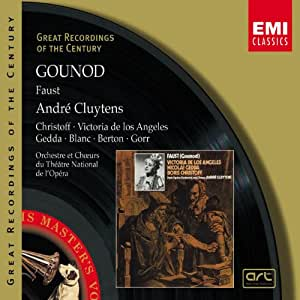 Gounod : Faust (2e version) (Coll. Great Recordings Of The Century)