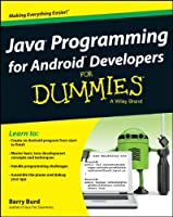 Java Programming for Android Developers For Dummies Front Cover