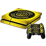 MODFREAKZ™ Console and Controller Vinyl Skin Set - German Sport Football BVB 09 for Playstation 4