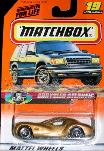 1998 Matchbox #19 of 75 Chrysler Atlantic - 1