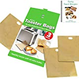 ekSel Non Stick Reusable Toaster Bags