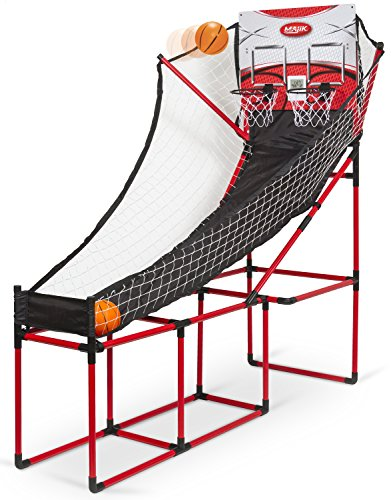 Majik Arcade Double Shot Basketball Game (Basketball Hoop Electronic compare prices)