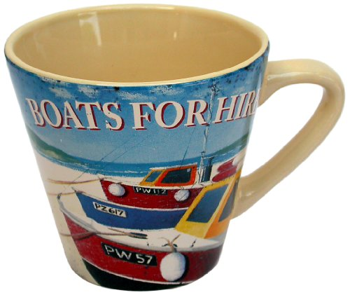 Martin-Wiscombe-1-Piece-Stoneware-Seaside-Boats-for-Hire-Mug-Assorted-Colors