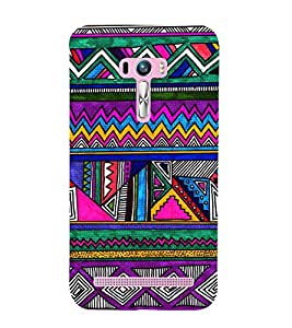 EPICCASE tribe celebration Mobile Back Case Cover For Asus Zenfone Selfie (Designer Case)
