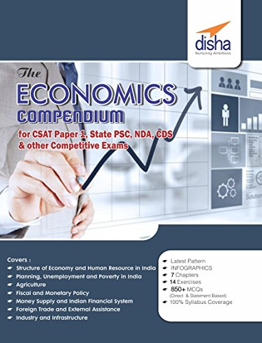 The Economics Compendium for CSAT - Paper 1 State PCS CDS NDA and other Competitive Exams