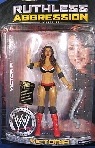 WWE Wrestling Action Figure Ruthless Aggression Series 28 Victoria