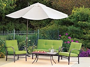 "Southern Sales UMB-474161 ""Southern Patio"" Round Offset Umbrella 10'"
