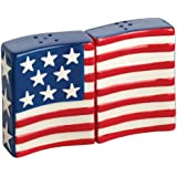 Boston Warehouse Flags Flying Salt and Pepper Set
