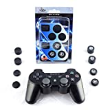 Get-A-Grip Analog Thumbstick Covers for PS4/PS3 by ScrewyRobotTM [Black]