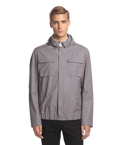 Calvin Klein Collection Men's Overdyed Waterproof Jacket