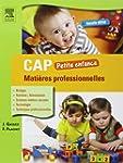 CAP Petite enfance Mati�res professio...