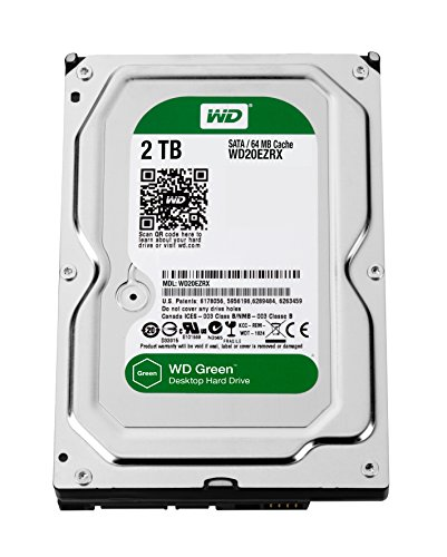 WD Caviar Green (WD20EZRX) 2TB Desktop Internal Hard Disk