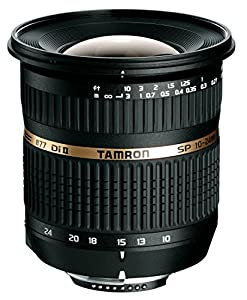 Tamron AF 10-24mm f/3.5-4.5 SP Di II LD Aspherical (IF) Lens with Built-in AF Motor for Nikon Digital SLR Cameras (Model B001NII)