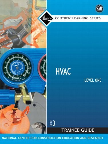 HVAC Level 1 Trainee Guide, Paperback (3rd Edition) by NCCER (2007-08-04) (Nccer Hvac Level 1 compare prices)