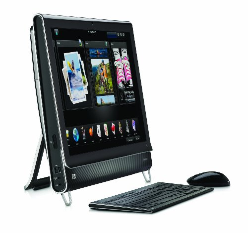HP TouchSmart IQ540uk Desktop with 22 inch Display (Intel Core 2 Duo Processor T6500, 4 GB RAM, 500 GB SATA, NVIDIA GeForce, Ethernet, WiFi, Bluetooth)