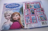Paper Valentine's Day Cards - Set of 32 (Disney Frozen)
