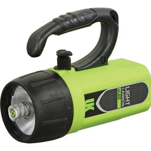 Underwater Kinetics Light Cannon eLED, Lantern Grip, Safety Yellow 44653