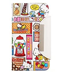 Galaxy Note 2/Hello Kitty Candy Wallet Case for Samsung Galaxy Note 2 II (AT&T,T-Mobile,Sprint,Verizon and Internationnal Galaxy Note 2)-Candy included Strap-SEALED
