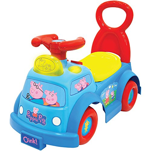 NEW! Peppa Pig Lights and Musical Ride On Toy for Kids (Jacks Big Music Show Toys compare prices)