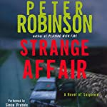 Strange Affair (       ABRIDGED) by Peter Robinson Narrated by Simon Prebble