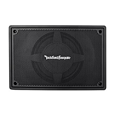 Rockford Fosgate PS-8 8 150W RMS Underseat Powered Car Stereo Audio Subwoofer