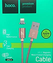 Hoco Magnetic Lightning 2.4A Reversible Charging Cable iPhone 6 6S 5S iPad Air