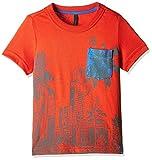 UCB Kids Baby Boys' T-Shirt (16P3QT6C12RNG10V_Red_1Y)