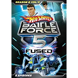 Hot Wheels Battle Force 5: Season 2 - Vol 4