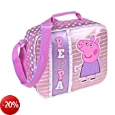 PEPPA PIG Sacchetto termico del pranzo - Lunch bag Stripes & Dots