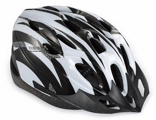 [Unbranded products: cool style! Super light weight and high rigidity! Bicycle cycling helmet (white & black)