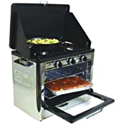 Amazon.com: Camp Chef Camping Outdoor Oven with 2 Burner Camping Stove: Kitchen &a