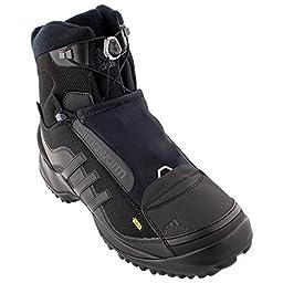 adidas Outdoor Men\'s Terrex Conrax CH CP Hiking Boot, Black/Black/Night Metallic, 9.5 M US