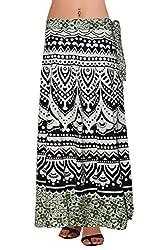 Wisegirls Jaipuri Print Wrap Around Skirt