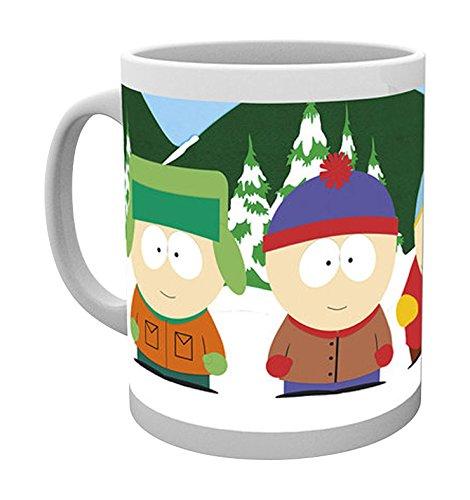 Empire Merchandising 692061 - Tazza in ceramica della serie tv South Park Boys, diametro 8,5 cm, altezza 9,5 cm