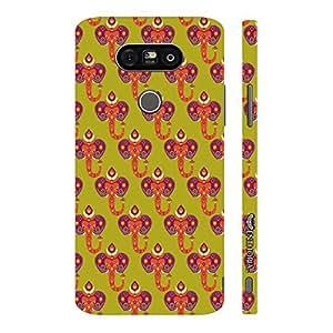 Enthopia Designer Hardshell Case Indian Elephant Back Cover for LG G5