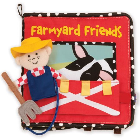 Manhattan Toy Farmyard Friends Soft Activity Book (Gears Gears Gears Activity Book compare prices)